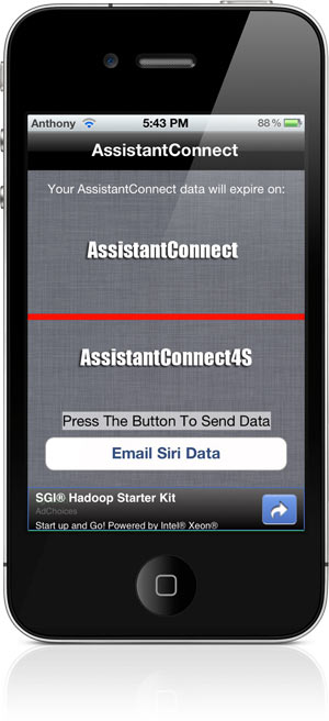 Spire: install siri on iphone 4, 3gs, ipad 1, ipod touch legally.