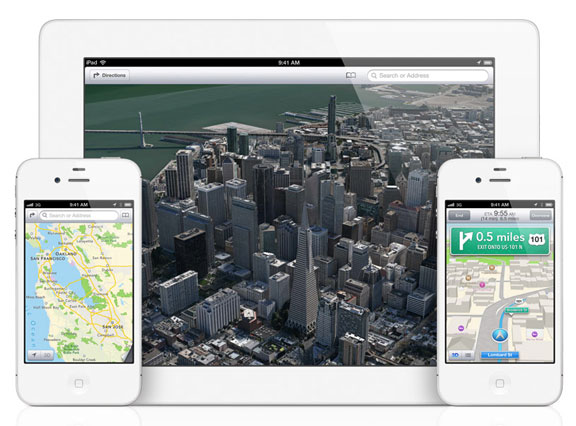 Maps for iOS 6