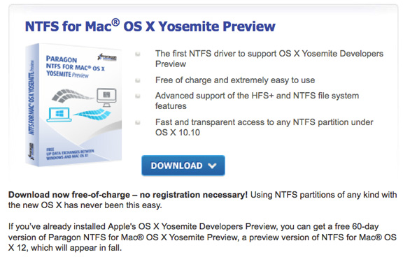 Enable NTFS write support on Mac OSX Yosemite and Mavericks without using a third party driver