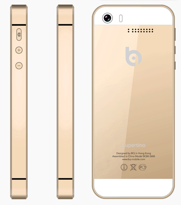 iOS News iPhone - iPad: Chinese clone released iPhone 5s as