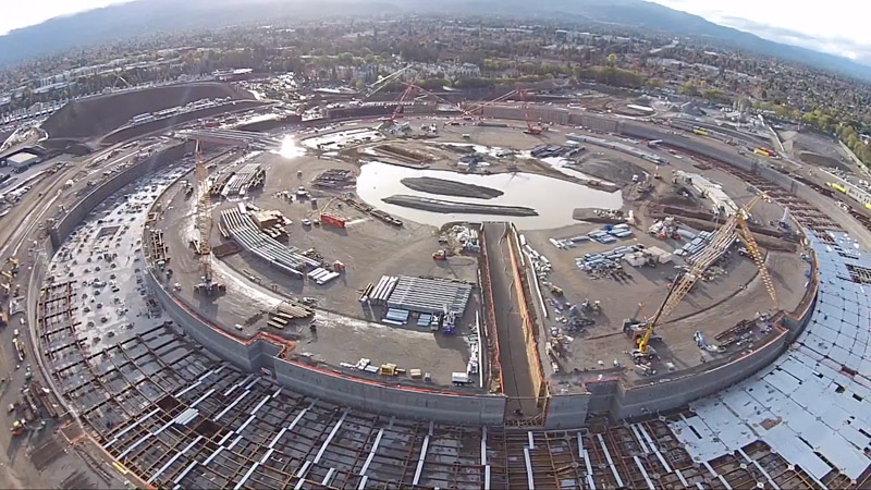 Judging By The Roller Construction Of New Headquarters Is In An Active Phase Already Looming Image Same Flying Saucer Project