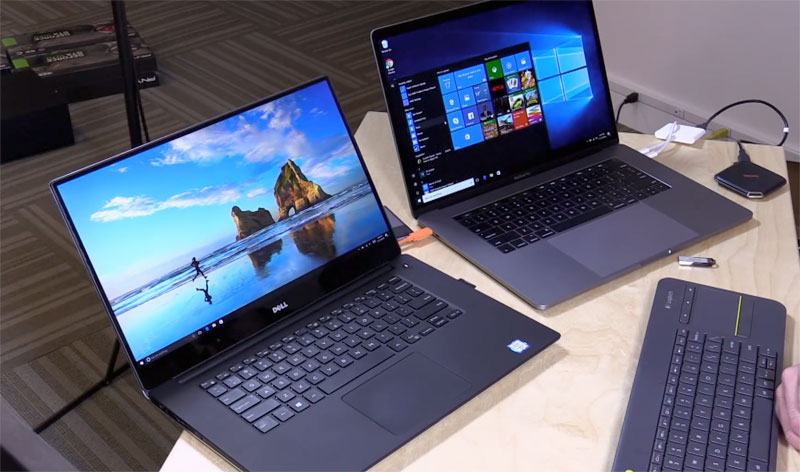 dell vs mac Dell has completely revamped the xps 13 for 2018, giving it a fresh new design and boosted internals how does it stack up against the classic macbook pro when you consider the dell xps 13 vs macbook pro 13, here's how it plays out.