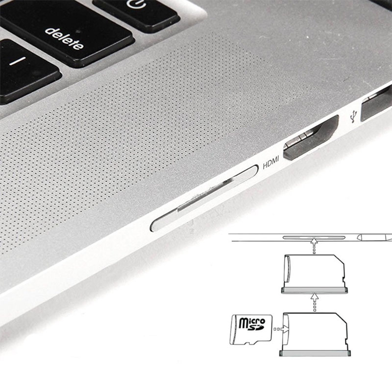 TheMiniDrive Seamless MacBook Storage Three hacks for adding permanent storage to your MacBook Air MiniDrive Uses SD MacBook Slot To Add Extra Storage Review