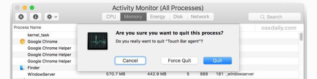 touch-bar-blank-button-mac-2 What To Do If Your MacBook Pro Touch Bar Gets Hung