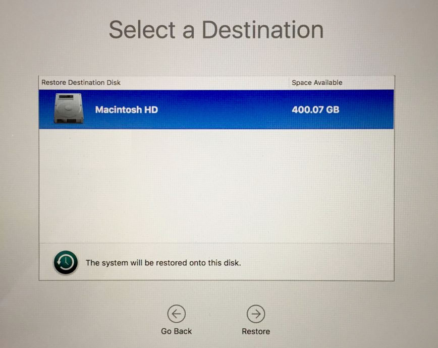 Mac file recovery boot disk